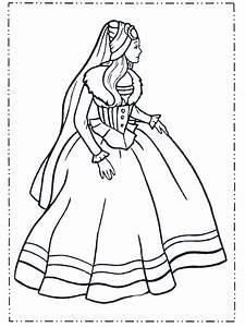 Prinzessin, Im, Kleid