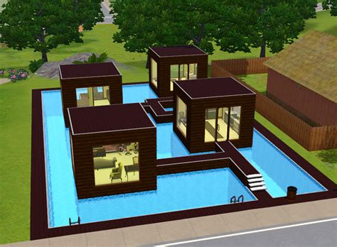 beautiful cool sims  house ideas building plans