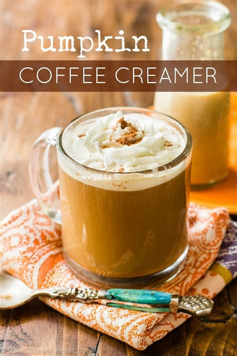 In less than 30 minutes, you'll have your own stash of pumpkin coffee creamer. Homemade Pumpkin Coffee Creamer - Sallys Baking Addiction