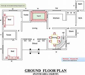 Home plan and elevation
