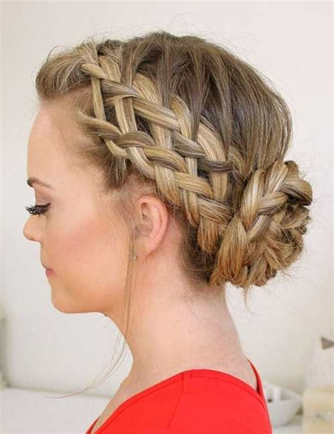 Braided Hairstyles With by Stunning Braided Hairstyles For Hair