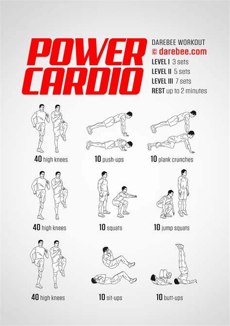 Bedroom Cardio Workout by Power Cardio Workout