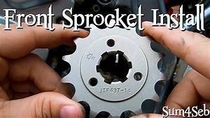 How To Change Your Front Sprocket Suzuki Dr650