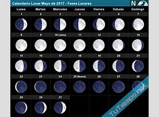 Lunar Calendar May 2017 Moon Phases