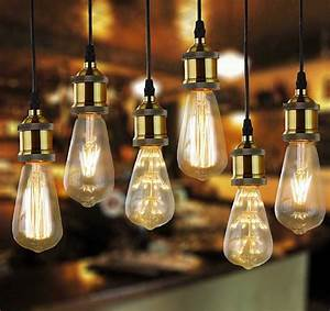 Star edison led glass filament bulb vintage industrial