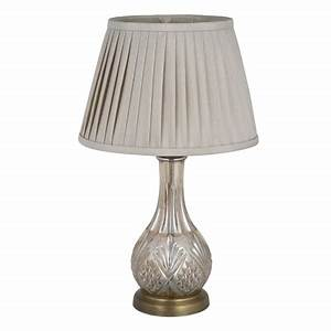 lustre glass table lamp with antique brass fittings and With antique floor lamp fittings