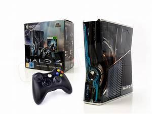 Gebrauchte Xbox 360 : microsoft xbox 360 konsole slim halo 4 kinect ready controller limited ebay ~ Blog.minnesotawildstore.com Haus und Dekorationen