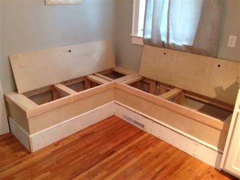 diy breakfast nook with storage woodworking bench vise