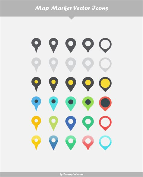 < previous 1 2 3 next >. Free Download: 30 Map Marker Vector Icons - Dreamstale.com