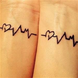 Prix Tatouage Exemple : modele tatouage battements de coeur interieur poignet ~ Melissatoandfro.com Idées de Décoration