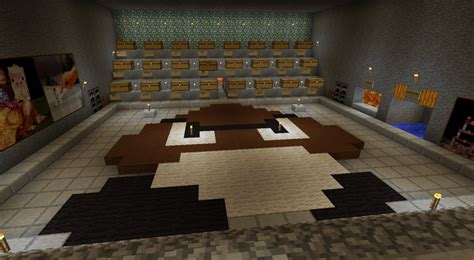 starting snow house underground minecraft map