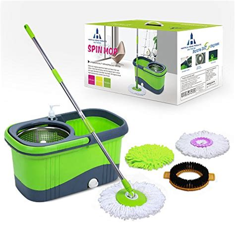 spin mop system by heritage home products a