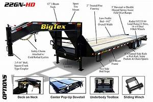 Big Tex Gooseneck Trailers In Frederick  Md