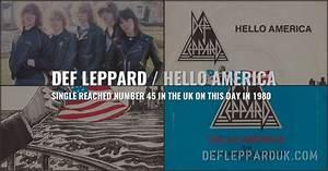 Def Leppard History 8th March 1980 Hello America Uk