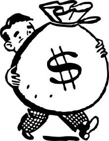 Front Desk Agent Salary by Free Retro Clipart Illustration Of Man Carrying Big Bag Of