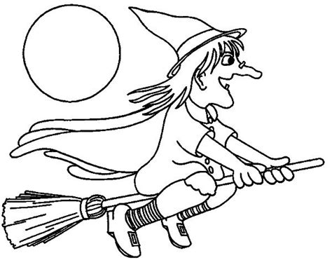 The Worst Witch Free Colouring Pages