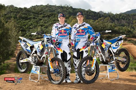 husqvarna motorcycles factory motocross teams launched