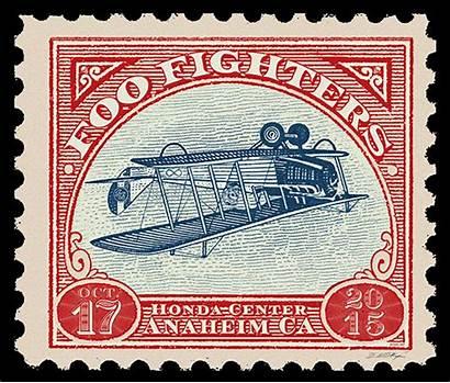 Foo Fighters Emek Stamp Poster Anaheim Release