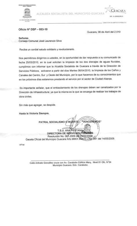Requisitos(copias y originales) identificación oficial con foto. Comunidad José Laurencio Silva: OBRAS PÚBLICAS DE LA ALCALDÍA DE GUACARA RESPONDIÓ OFICIO ...