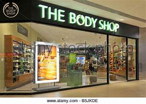 Interior of a Body Shop, England, UK Stock Photo, Royalty ...