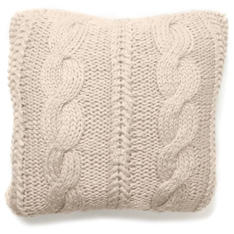 Cable Knit Coverlet by Raj Cable Knit Coverlet Cloud