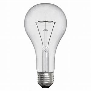 ge 200 watt incandescent a21 clear light bulb 200a cl 1 With table lamp 200 watt