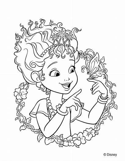 Nancy Fancy Coloring Sheets Sheet Nanny Disney
