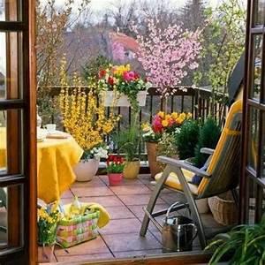Balkon Ideen Pflanzen : wundersch ner balkon deko ideen zur inspiration ~ Lizthompson.info Haus und Dekorationen