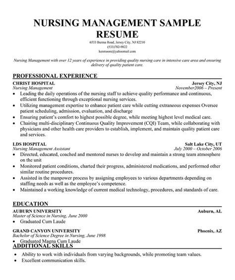 12196 nursing resume exles 2017 manager resume printable planner template