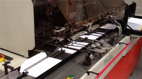 bell howell jumbo envelope enclosing mailing machine