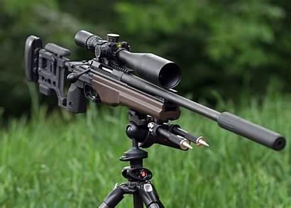 Sniper Rifle Sako Trg Weapon Background Dog