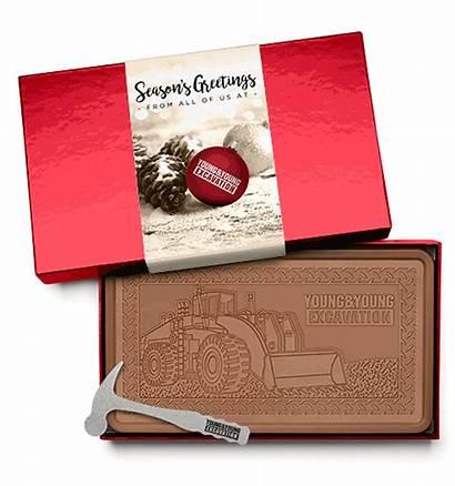 Chocolate Bar Indulgent Fully Belgian 2lb Engraved
