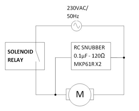 How Design Snubber For Solenoid Relay Driving