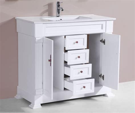 white single bathroom vanity improve your bathroom with a white single bathroom vanity