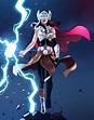 《雷神4》最新设想图,简福斯特化身女雷神,并举起了雷神之锤 zt - 影视区 - 虎扑社区