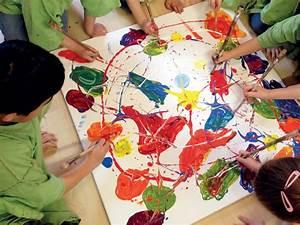 Malen Mit Kindern : kleine malerwerkstatt malen in der gruppe klexwerk ~ Markanthonyermac.com Haus und Dekorationen