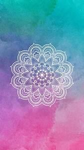 Mandala / Wallpaper / lockscreen / colorido | Iphone ...
