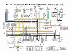 Basic Harley Wiring Diagram 1974