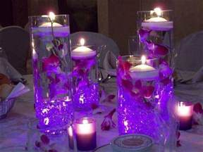 david tutera fairy lights wodnerful diy unique floating candle centerpiece with flower