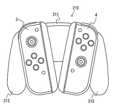 nintendo patents highlight  switch details
