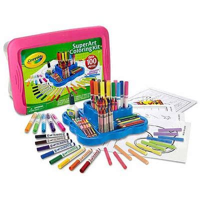 Crayola Coloring Kit by Toys R Us Deal 50 Crayola Craft Kit