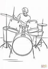 Drum Coloring Drawing Drums Pages Player Bass Kit Drawings Supercoloring Instruments Cartoon Breathtaking Pluspng Printable Getdrawings Les Paul Sets Wind sketch template