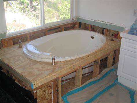 install  bath tub installation repairs tips