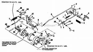 Allis Chalmers Clutch And Transmission Diagram  Parts