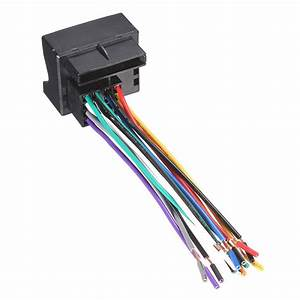 Buy Car Stereo Radio Player Wire Harness Adapter Plug For Vw Jetta Passat
