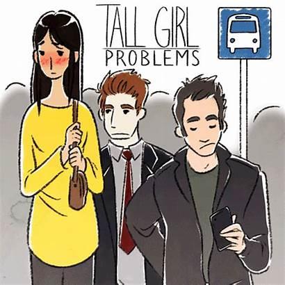 Tall Short Problems Artist Mirror Illustrates Looks
