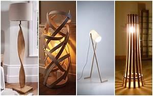 17, Delightful, Wooden, Floor, Lamp, Designs, That, Will, Catch, Your, Eye