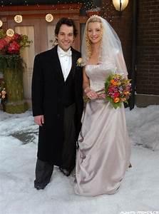 Wedding dresses in tv show blog for Friends wedding dress