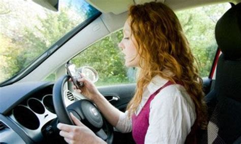 Texting While Driving 'slows Reaction Times More Than