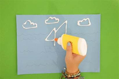 Sand Tate Paint Drawing Draw Glue Activity